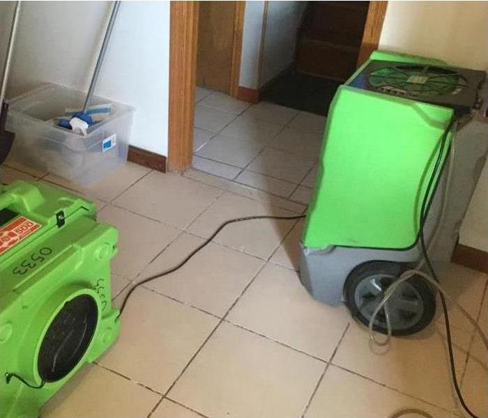 Drying equipment in a home