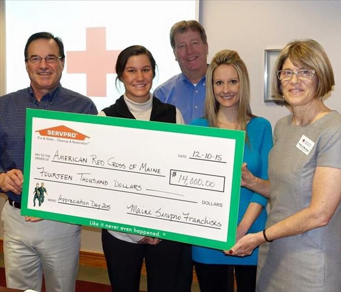 Community SERVPRO of Maine's Annual Appreciation Day